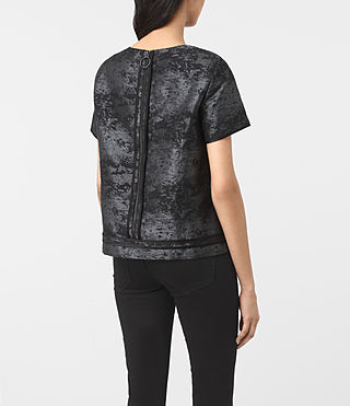 Mujer Jiro Top (Black) - product_image_alt_text_3