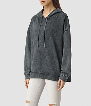 Mujer Tor Hoody (Black) - product_image_alt_text_2