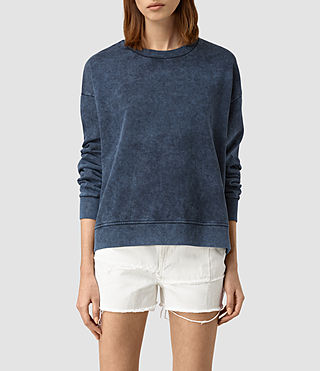 Womens New Lo Sweatshirt (Denim Blue)