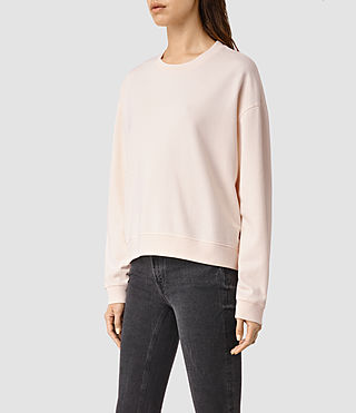Womens New Lo Sweatshirt (CAMI PINK) - product_image_alt_text_2