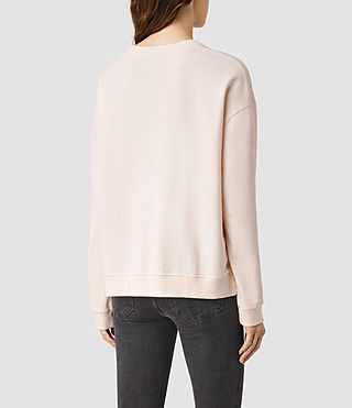 Womens New Lo Sweatshirt (CAMI PINK) - product_image_alt_text_3