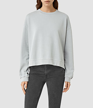 Women's New Lo Sweatshirt (MIST BLUE)