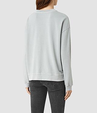 Mujer New Lo Sweatshirt (MIST BLUE) - product_image_alt_text_3