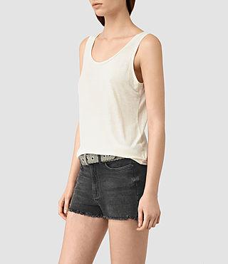 Womens Ona Tank (SMOG WHITE) - product_image_alt_text_3