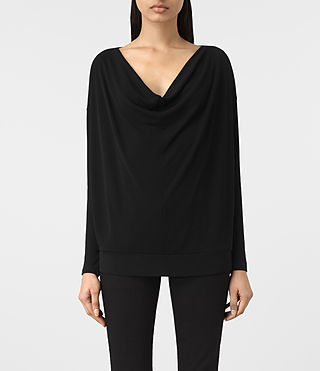 Womens Vicki Top (Black)