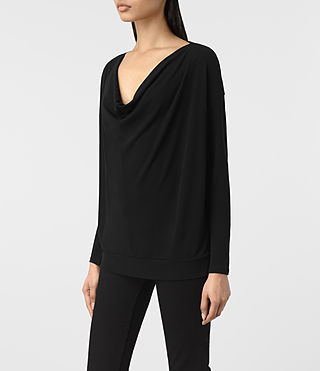 Mujer Top Vicki (Black) - product_image_alt_text_2