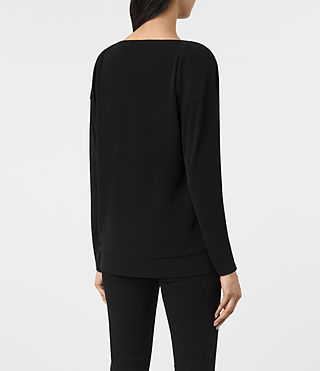 Mujer Top Vicki (Black) - product_image_alt_text_3