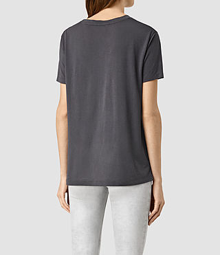 Womens Ashley Devo Tee (Washed Black) - product_image_alt_text_3
