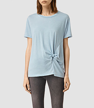 Mujer Ashley Devo Tee (Sky Blue) - product_image_alt_text_1