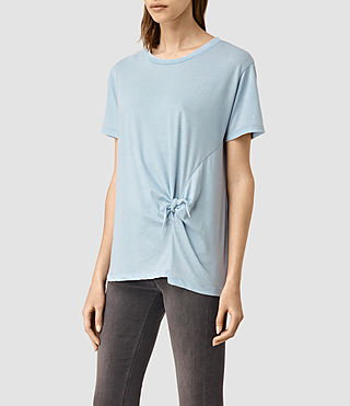 Women's Ashley Devo Tee (Sky Blue) - product_image_alt_text_2