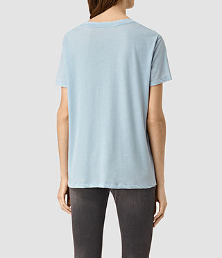 Women's Ashley Devo Tee (Sky Blue) - product_image_alt_text_3