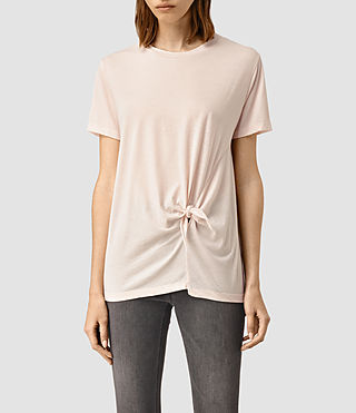 Donne Ashley Devo Tee (CAMI PINK) -