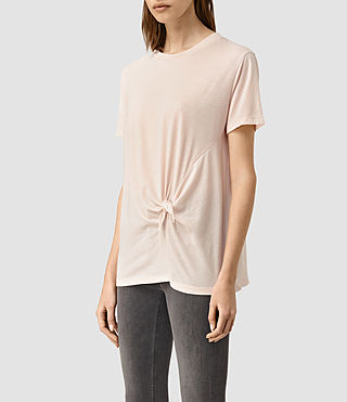 Women's Ashley Devo Tee (CAMI PINK) - product_image_alt_text_2