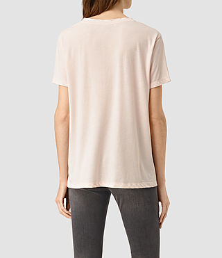 Women's Ashley Devo Tee (CAMI PINK) - product_image_alt_text_3