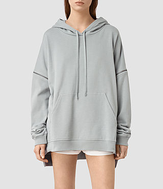 Womens Graded Lo Hoody (MIST BLUE)