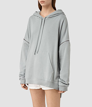 Women's Graded Lo Hoody (MIST BLUE) - product_image_alt_text_2