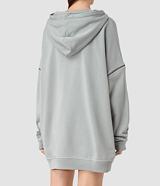 Women's Graded Lo Hoody (MIST BLUE) - product_image_alt_text_3