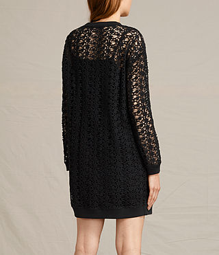 Damen Liza Lace Dress (Black) - product_image_alt_text_6