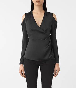 Damen Danio Top (Black) -