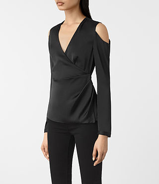 Mujer Danio Top (Black) - product_image_alt_text_2