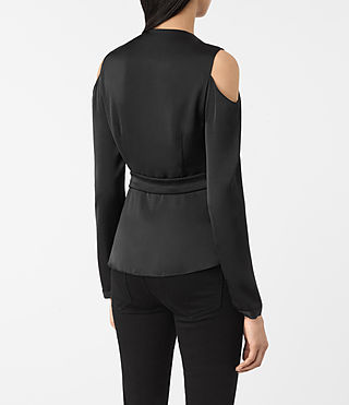 Mujer Danio Top (Black) - product_image_alt_text_3