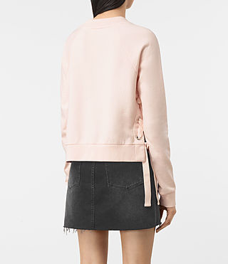 Femmes Leti Cropped Sweatshirt (Quartz Pink) - product_image_alt_text_4
