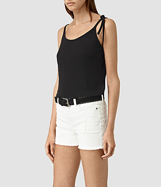 Mujer Top Tied (Black) - product_image_alt_text_3