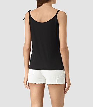Mujer Top Tied (Black) - product_image_alt_text_4