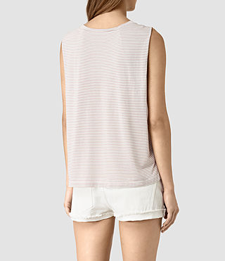 Femmes Louis Stripe Top (SMOG WHITE/P.GREY) - product_image_alt_text_4