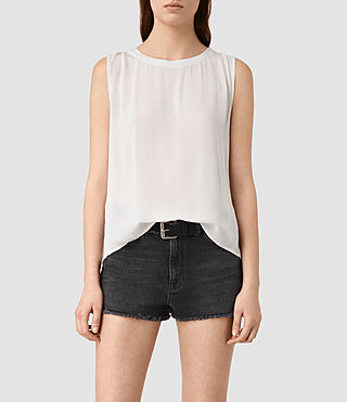 Damen Louis Top (OYSTER WHITE)