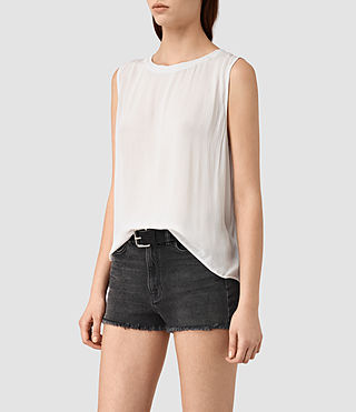 Femmes Louis Top (OYSTER WHITE) - product_image_alt_text_2