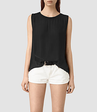 Women's Louis Top (Black) -