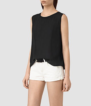 Mujer Louis Top (Black) - product_image_alt_text_2