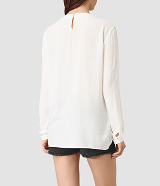 Women's Camber Top (Chalk White) - product_image_alt_text_3