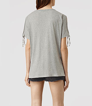 Mujer Camiseta Kay (Mist Grey Marl) - product_image_alt_text_4