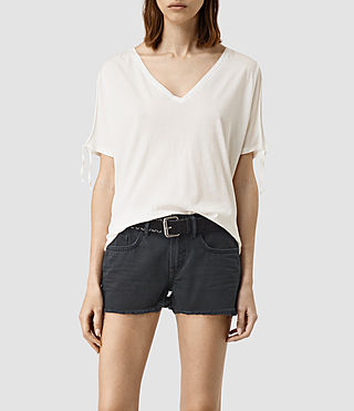 Damen Kay Tee (Chalk White)