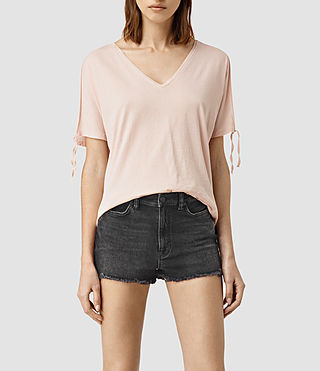 Mujer Camiseta Kay (CAMI PINK) - product_image_alt_text_1