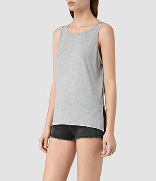Womens Lee Tank (Mist Grey Marl) - product_image_alt_text_3