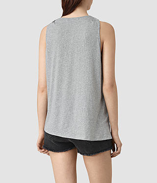 Mujer Lena Tank (Mist Grey Marl) - product_image_alt_text_4