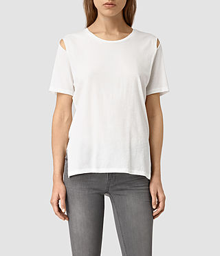 Womens Mewa Tee (Chalk White)