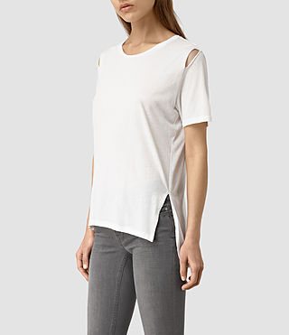Mujer Mewa Tee (Chalk White) - product_image_alt_text_3