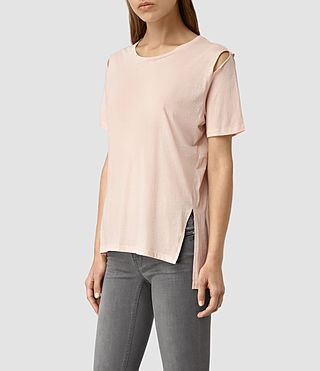 Women's Mewa Tee (CAMI PINK) - product_image_alt_text_3