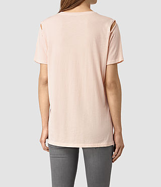 Women's Mewa Tee (CAMI PINK) - product_image_alt_text_4