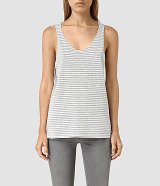 Women's Noah Tank (SMOG WHITE/BLACK)