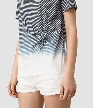 Damen Ashley Grade Tee (INK BLUE/C.WHITE) - product_image_alt_text_2