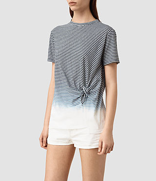 Damen Ashley Grade Tee (INK BLUE/C.WHITE) - product_image_alt_text_3