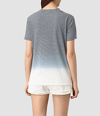Damen Ashley Grade Tee (INK BLUE/C.WHITE) - product_image_alt_text_4