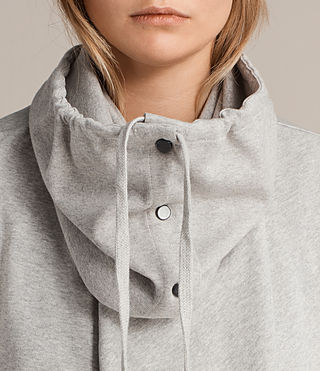 Womens Brooke Sweat (PALE GREY MARL) - product_image_alt_text_2