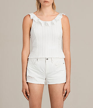 Femmes Top Stina (Chalk White) - Image 1