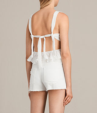 Femmes Top Stina (Chalk White) - Image 2